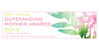 Logo for the Outstanding Mother Awards