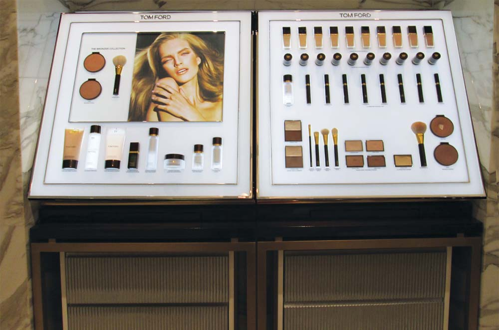 Makeup Display Counter  Unit for Tom Ford