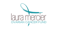 Logo for The Laura Mercier Ovarian Cancer Fund